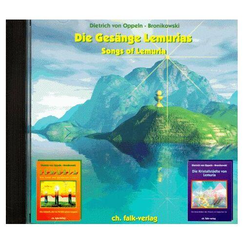 Oppeln-Bronikowski, Dietrich von - Die Gesänge Lemurias. CD: Songs of Lemuria - Preis vom 23.09.2021 04:56:55 h