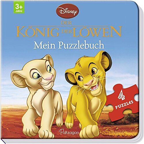 Disney - Disney König der Löwen: Mein Puzzlebuch: Mit 4 Puzzles zu je 12 Teilen - Preis vom 23.07.2021 04:48:01 h