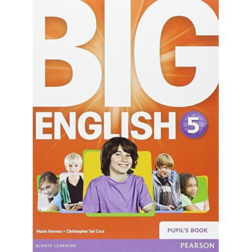 Mario Herrera - Big English 5 Pupils Book stand alone - Preis vom 21.06.2021 04:48:19 h