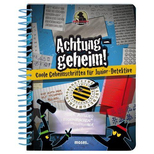 Corinna Harder - Achtung geheim! Coole Geheimschriften für Junior-Detektive - Preis vom 26.07.2021 04:48:14 h