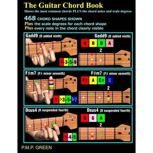 Green, Mr P.M.P. - The Guitar Chord Book: Shows the most common chords plus the chord notes and scale degrees - Preis vom 09.06.2021 04:47:15 h