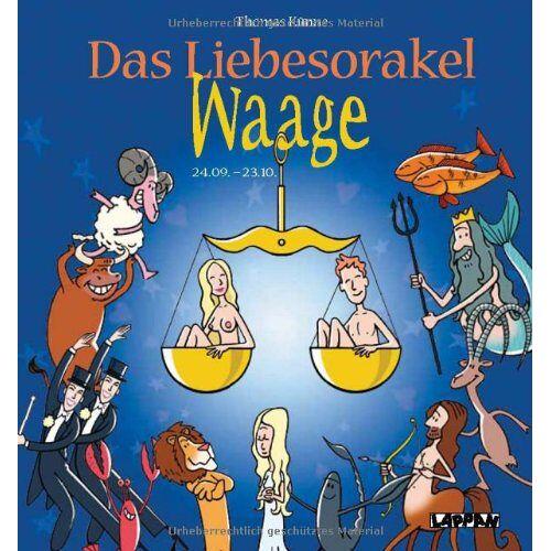 Thomas Künne - Das Liebesorakel - Waage - Preis vom 13.06.2021 04:45:58 h