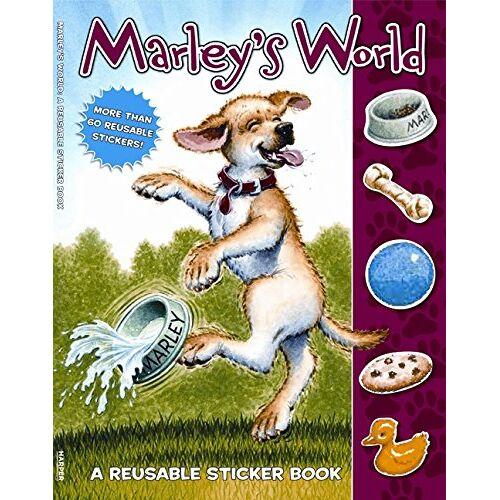 John Grogan - Marley: Marley's World Reusable Sticker Book - Preis vom 21.06.2021 04:48:19 h