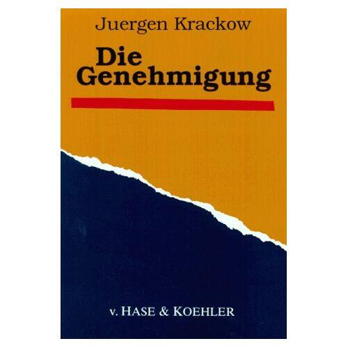 Jürgen Krackow - Die Genehmigung - Preis vom 13.06.2021 04:45:58 h