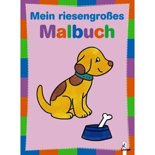 - Mein riesengroßes Malbuch - Hund - Preis vom 22.06.2021 04:48:15 h