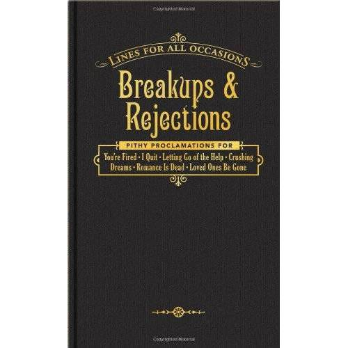 Knock Knock - Breakups and Rejections for All Occasions (Lines for All Occasions) - Preis vom 14.06.2021 04:47:09 h