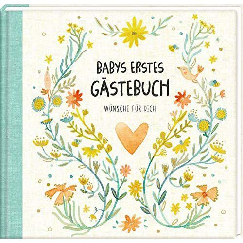- Gästebuch - Babys erstes Gästebuch: Wünsche für dich - Preis vom 13.09.2021 05:00:26 h