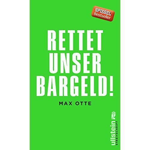 Max Otte - Rettet unser Bargeld! - Preis vom 15.06.2021 04:47:52 h