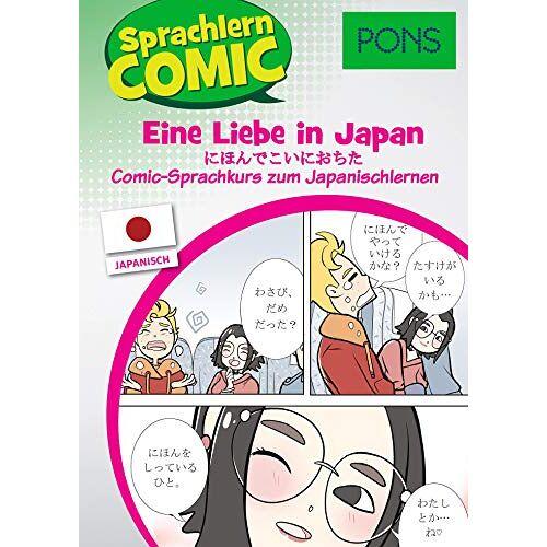 - PONS Sprachlern-Comic Japanisch: Eine Liebe in Japan - der Comic Sprachkurs zum Japanisch lernen - Preis vom 13.09.2021 05:00:26 h