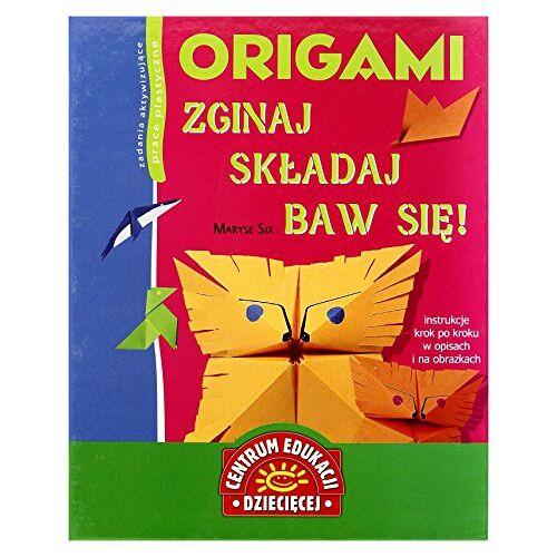 Maryse Six - Origami. Zginaj Składaj Baw Się! - Maryse Six [KSIĄŝKA] - Preis vom 21.06.2021 04:48:19 h
