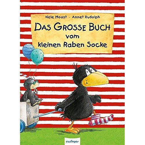 Nele Moost - Der kleine Rabe Socke: Das große Buch vom kleinen Raben Socke - Preis vom 09.06.2021 04:47:15 h