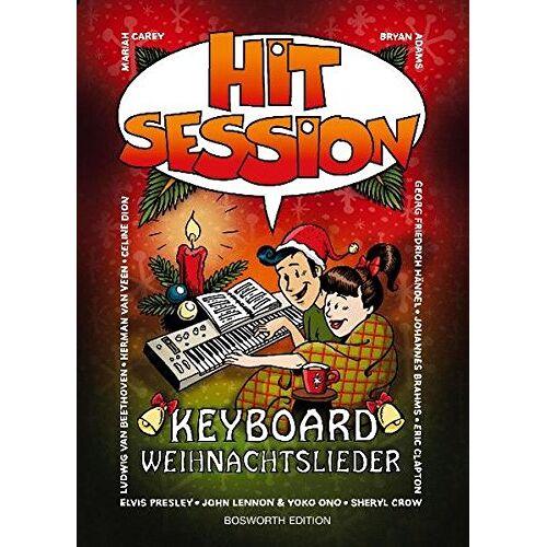 Bosworth Music - Hit Session: Keyboard Weihnachtslieder - Preis vom 20.06.2021 04:47:58 h