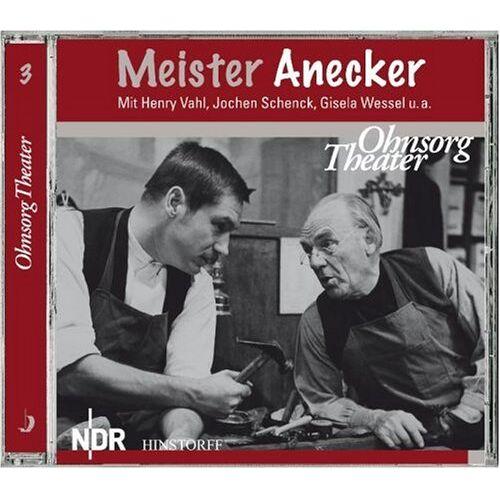 - Meister Anecker: Hörfassung der Fernsehaufführung von 1965 - Preis vom 20.06.2021 04:47:58 h