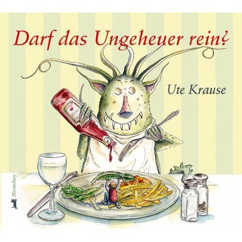 Ute Krause - Darf das Ungeheuer rein? - Preis vom 15.10.2021 04:56:39 h
