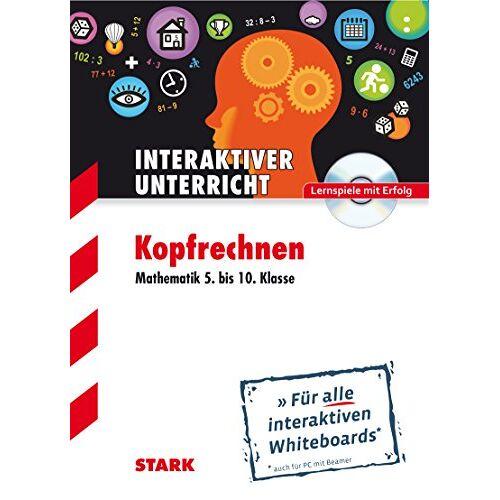 Stefan Eigel - CD-ROM Whiteboard-Anwendung Kopfrechnen - Mathematik 5.-10.Klasse: Für alle interaktiven Whiteboards (auch für PC mit Beamer) - Preis vom 20.06.2021 04:47:58 h
