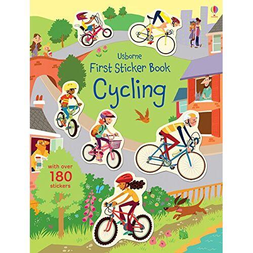Jessica Greenwell - First Sticker Book Cycling (First Sticker Books) - Preis vom 14.06.2021 04:47:09 h