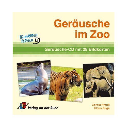 Carola Preuss - Geräusche im Zoo. CD und 28 farb. Bildkarten - Preis vom 13.09.2021 05:00:26 h