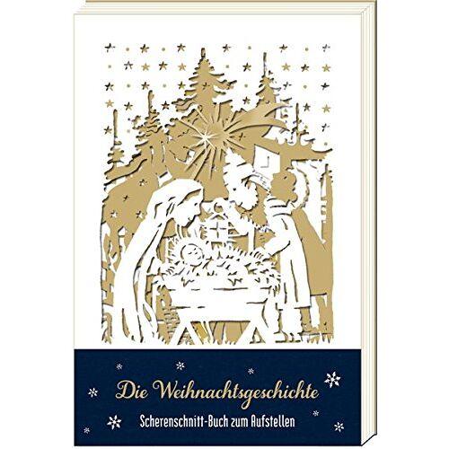 - Scherenschnitt-Buch - Die Weihnachtsgeschichte: Scherenschnitt-Buch zum Aufstellen - Preis vom 20.06.2021 04:47:58 h
