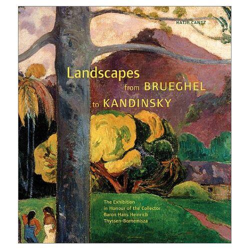 Thomas Llorens - Landscapes from Brueghel to Kandinsky; Landschaften von Brueghel bis Kandinsky, engl. Ausgabe - Preis vom 24.07.2021 04:46:39 h