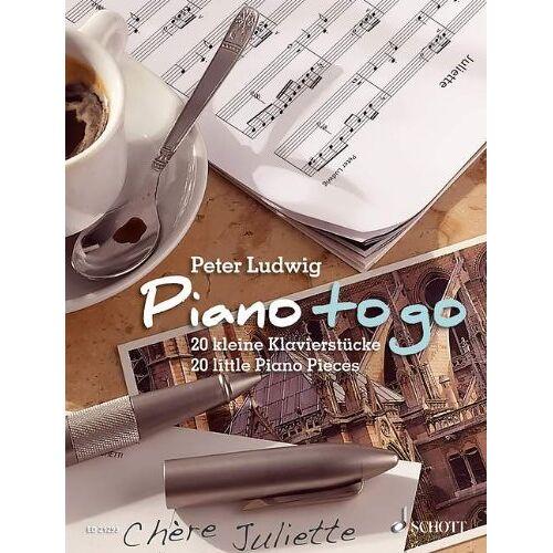 - Piano to go: 20 kleine Klavierstücke. Klavier. - Preis vom 21.06.2021 04:48:19 h