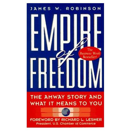 Robinson, James W. - Empire of Freedom: The Amway Story and What It Means to You - Preis vom 22.07.2021 04:48:11 h