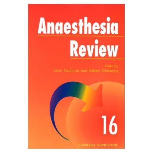 Leon Kaufman - Anesthesia Review (Anaesthesia Review) - Preis vom 12.06.2021 04:48:00 h