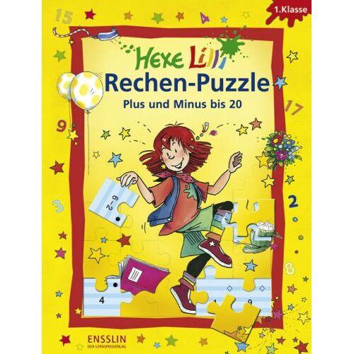 Roland Volk - Hexe Lilli Rechen-Puzzle - Plus und Minus bis 20: 1. Klasse. 4 Lernspiel-Puzzles - Preis vom 02.08.2021 04:48:42 h