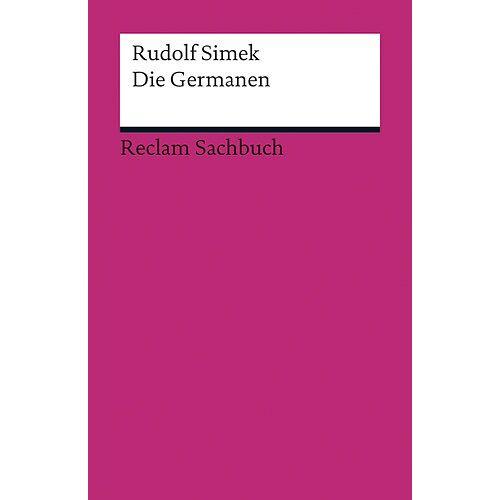 Rudolf Simek - Die Germanen - Preis vom 13.06.2021 04:45:58 h