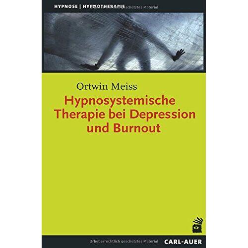 Ortwin Meiss - Hypnosystemische Therapie bei Depression und Burnout (Hypnose und Hypnotherapie) - Preis vom 30.07.2021 04:46:10 h