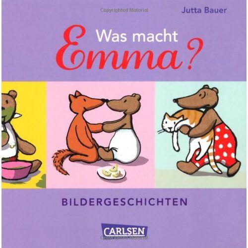 Jutta Bauer - Emma: Was macht Emma?: Bildergeschichten - Preis vom 21.06.2021 04:48:19 h