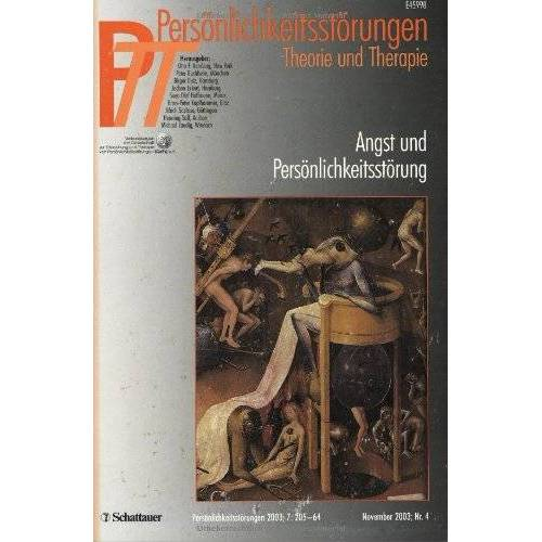 Kernberg, Otto F. - Persönlichkeitsstörungen PTT: PPT 2003/4. Angst und Persönlichkeitsstörungen: 4/2003 - Preis vom 15.09.2021 04:53:31 h