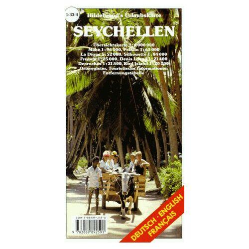 - Hildebrand's Urlaubskarten; Hildebrand's Travel Maps, Nr.33, Seychellen (Hildebrand's Africa / Indian Ocean Travel Map) - Preis vom 15.06.2021 04:47:52 h