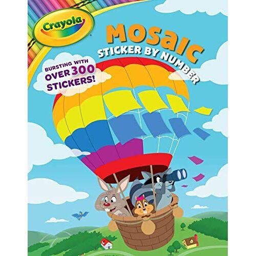 BuzzPop - Crayola Mosaic Sticker by Number (Crayola/BuzzPop, Band 4) - Preis vom 28.07.2021 04:47:08 h