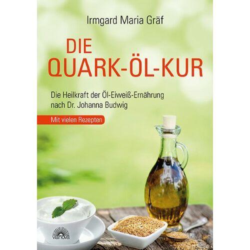 Gräf, Irmgard Maria - Die Quark-Öl-Kur: Die Heilkraft der Öl-Eiweiß-Ernährung nach Dr. Johanna Budwig mit vielen Rezepten - Preis vom 28.07.2021 04:47:08 h