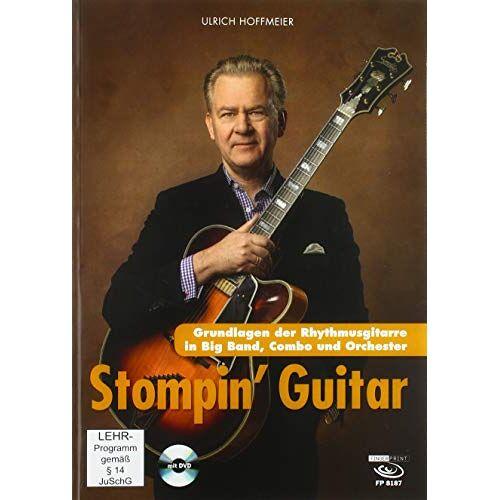 Ulrich Hoffmeier - Stompin' Guitar: Grundlagen der Rhythmusgitarre für Big Band, Combo und Orchester - Preis vom 21.06.2021 04:48:19 h