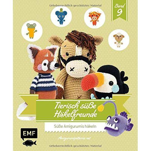 Amigurumipatterns.net - Tierisch süße Häkelfreunde 9: Süße Amigurumis häkeln - Preis vom 17.06.2021 04:48:08 h