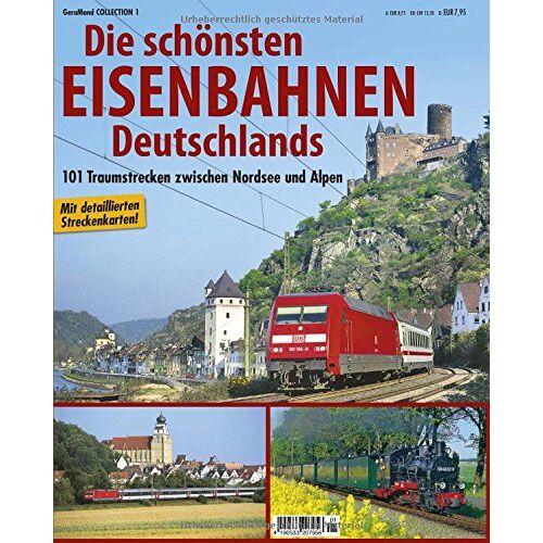 Michael Dörflinger - Reiseführer Eisenbahnstrecken: Ganz Deutschland mit Streckenkarten, Infos zu Fahrzeugen, Highlights der Landschaft und brillanten Bildern für Liebhaber - Preis vom 19.06.2021 04:48:54 h