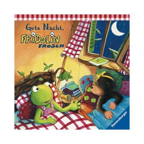 Sabine Cuno - Fridolin Frosch: Gute Nacht, Fridolin Frosch - Preis vom 21.06.2021 04:48:19 h