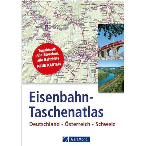 Verlagshaus - Eisenbahn-Taschenatlas: Deutschland, Österreich, Schweiz - Preis vom 13.09.2021 05:00:26 h