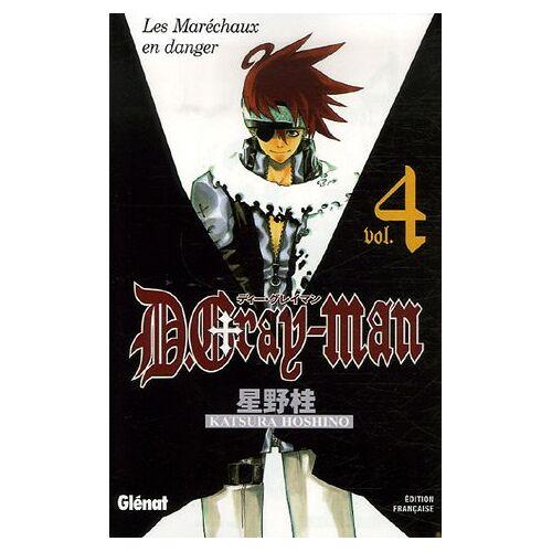 Katsura Hoshino - D. Gray-Man, Tome 4 : Les Maréchaux en danger - Preis vom 18.06.2021 04:47:54 h