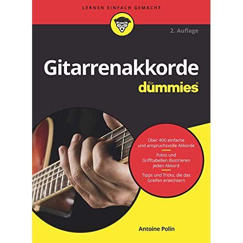 Polin, Antoine A. - Gitarrenakkorde für Dummies - Preis vom 11.06.2021 04:46:58 h