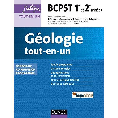 Collectif - Géologie tout-en-un : BCPST 1re et 2e années - Preis vom 30.07.2021 04:46:10 h