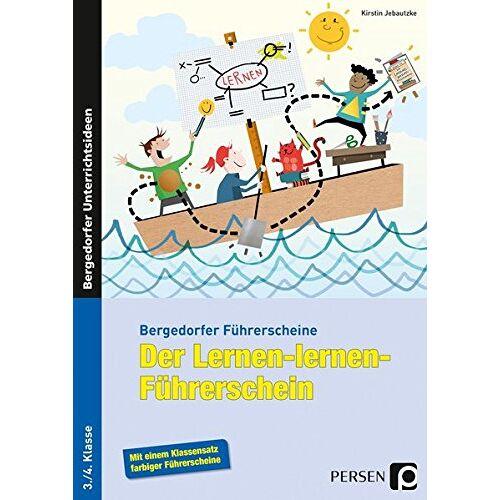 Kirstin Jebautzke - Der Lernen-lernen-Führerschein - 3./4. Klasse (Bergedorfer® Führerscheine) - Preis vom 22.06.2021 04:48:15 h