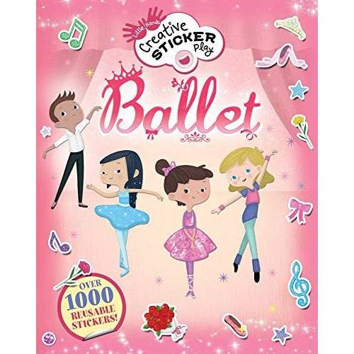 Mandy Archer - Ballet: Over 1000 Reusable Stickers! (Little Hands Creative Sticker Play) - Preis vom 21.06.2021 04:48:19 h