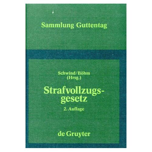 - Strafvollzugsgesetz. StVollzG - Preis vom 22.06.2021 04:48:15 h