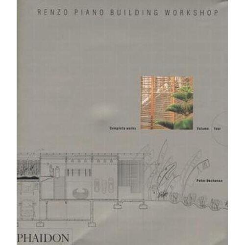 Peter Buchanan - Renzo Piano Building Workshop - Volume 4: Complete Works (Renzo Piano Building Workshop (Paperback)) - Preis vom 20.06.2021 04:47:58 h