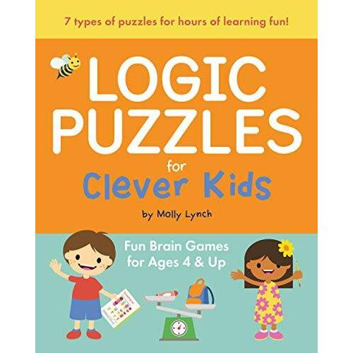 Molly Lynch - Lynch, M: Logic Puzzles for Clever Kids: Fun Brain Games for Ages 4 & Up - Preis vom 23.09.2021 04:56:55 h