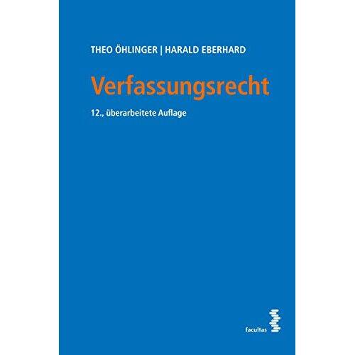 Theo Öhlinger - Verfassungsrecht - Preis vom 22.06.2021 04:48:15 h