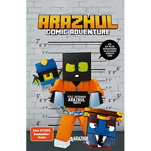 Arazhul - Wie ich meine Hausaufgaben im Gefängnis gemacht habe - Ein Arazhul-Comic-Adventure - Preis vom 18.06.2021 04:47:54 h