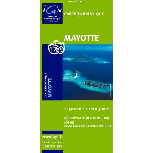 - Carte routière : Mayotte (Outre Mer) - Preis vom 21.06.2021 04:48:19 h